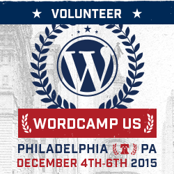 WordCamp US 2015 バナー